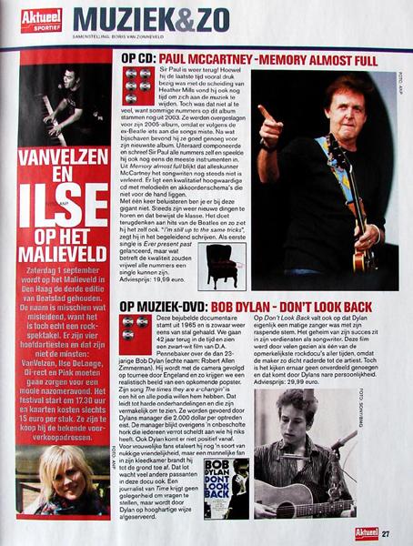 Boris van Zonneveld Muziekrecensies