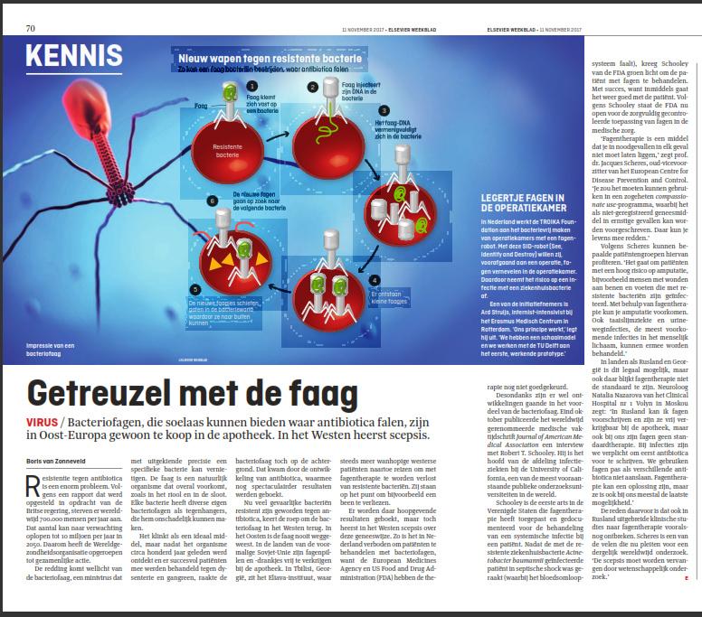 Boris van Zonneveld bacteriofagen