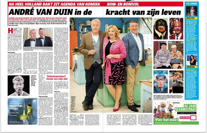 Boris van Zonneveld interview Andre van Duin