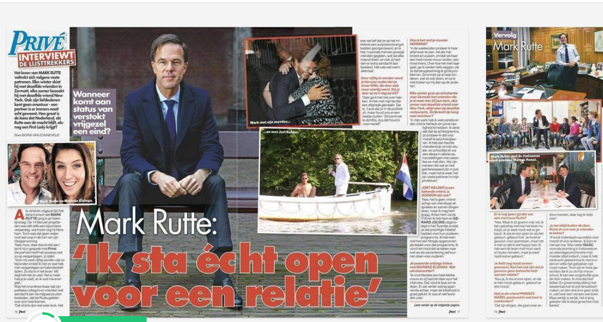 Boris van Zonneveld interview Mark Rutte