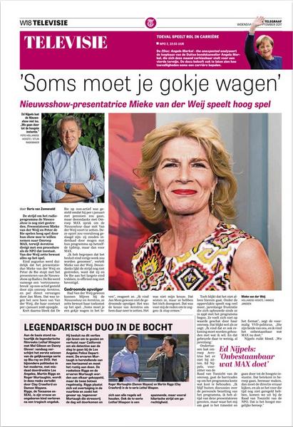 Boris van Zonneveld interview Mieke van der Weij