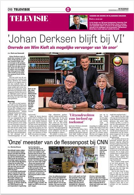 Boris van Zonneveld interview Rene van der Gijp