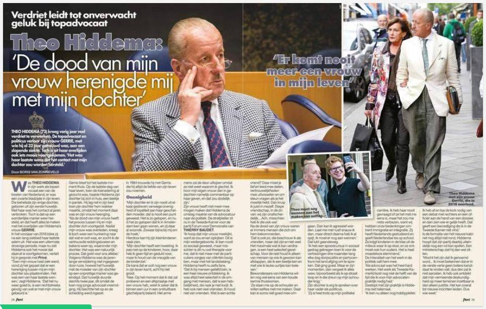 Boris van Zonneveld interview Theo Hiddema blad